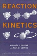 Book Reaction Kinetics by Michael J. Pilling