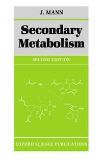 Book Secondary Metabolism by J. Mann