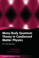 Many-Body Quantum Theory in Condensed Matter Physics: An Introduction