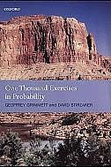 Book One Thousand Exercises in Probability by Geoffrey Grimmett