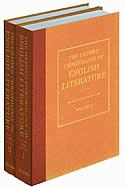 Book The Oxford Chronology Of English Literature by Michael Cox