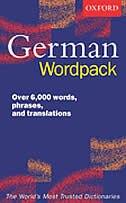 Book Oxford German Wordpack by Susan Wilkin