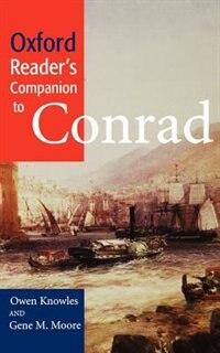 Book Oxford Readers Companion to Conrad by Owen Knowles