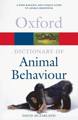Book A Dictionary of Animal Behaviour by David McFarland