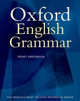 Book The Oxford English Grammar by Sidney Greenbaum