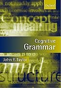 Book Cognitive Grammar by John R. Taylor