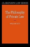 Book Philosophy of Private Law by William Lucy