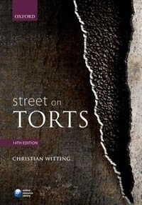 Book Street on Torts by Christian Witting