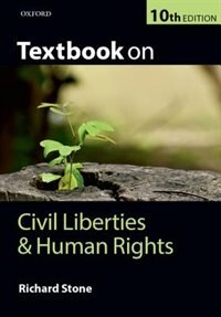 Book Textbook on Civil Liberties and Human Rights by Richard Stone