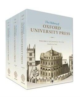 Book History of Oxford University Press: Three-volume set by Ian Gadd