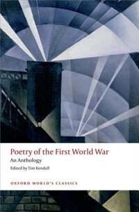 Book Poetry of the First World War: An Anthology by Tim Kendall