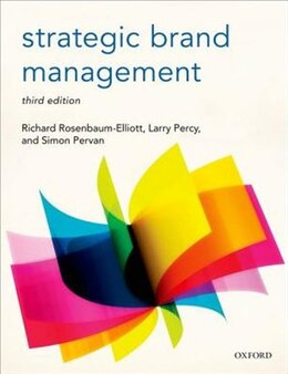 Book Strategic Brand Management by Richard Rosenbaum-Elliott