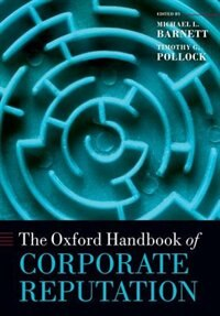 Book The Oxford Handbook of Corporate Reputation by Michael L. Barnett
