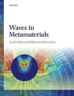 Book Waves in Metamaterials by Laszlo Solymar