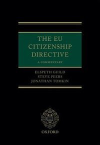 Book The EU Citizenship Directive: A Commentary by Elspeth Guild