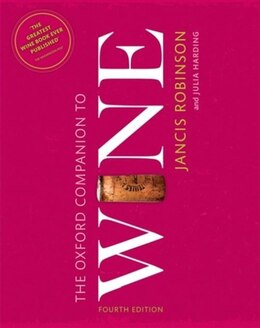 Book The Oxford Companion to Wine by Jancis Robinson
