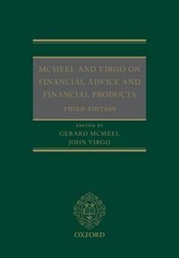 Book McMeel and Virgo On Financial Advice and Financial Products by Gerard McMeel