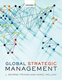 Book Global Strategic Management by Jedrzej George Frynas