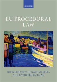 Book EU Procedural Law by Koen Lenaerts