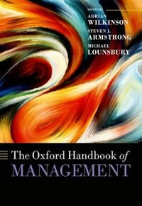 Book The Oxford Handbook of Management by Adrian Wilkinson