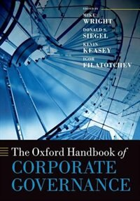 Book The Oxford Handbook of Corporate Governance by Mike Wright