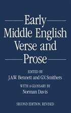 Early Middle English Verse and Prose. 1155-1300