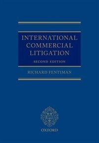 Book International Commercial Litigation by Richard Fentiman