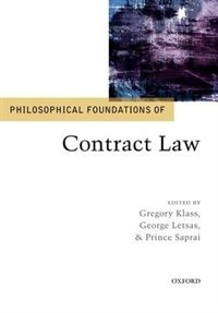 Book Philosophical Foundations of Contract Law by Gregory Klass