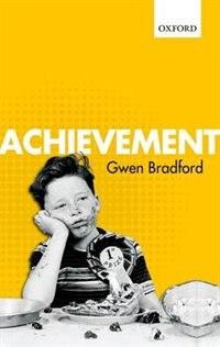 Book Achievement by Gwen Bradford