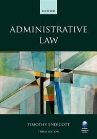 Book Administrative Law by Timothy Endicott
