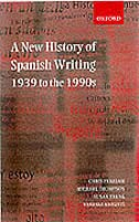 Book A New History of Spanish Writing, 1939 to the 1990s by Chris Perriam