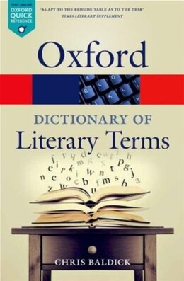 Book The Oxford Dictionary of Literary Terms by Chris Baldick