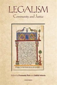 Book Legalism: Community and Justice by Fernanda Pirie