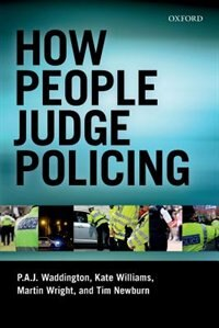 Book How People Judge Policing by P. A. J. Waddington