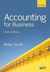 Book Accounting for Business by Peter Scott