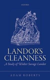 Book Landors Cleanness by Adam Roberts