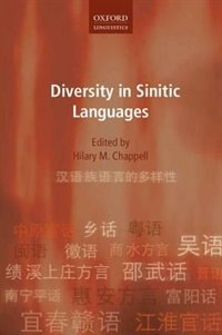 Book Diversity in Sinitic Languages by Hilary M. Chappell
