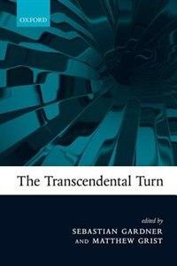 Book The Transcendental Turn by Sebastian Gardner