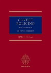 Book Covert Policing: Law and Practice by Simon McKay