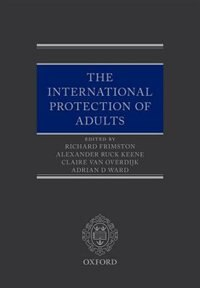 Book International Protection of Adults by Richard Frimston