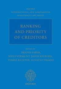 Book Ranking and Priority of Creditors by Dennis Faber