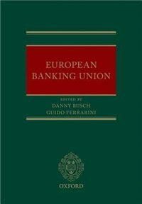 Book European Banking Union by Danny Busch