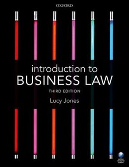 Book Introduction to Business Law by Lucy Jones