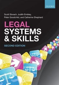 Book Legal Systems and Skills by Scott Slorach