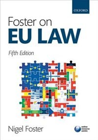 Book Foster on EU Law by Nigel Foster