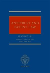 Book Antitrust and Patent Law by Alan Devlin