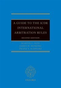 Book A Guide to the ICDR International Arbitration Rules by Martin F. Gusy
