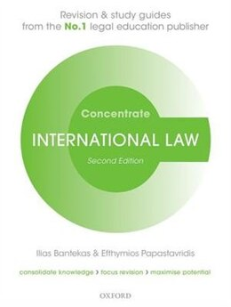 Book International Law Concentrate: Law Revision and Study Guide by Ilias Bantekas