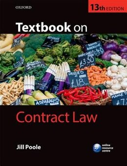 Book Textbook on Contract Law by Jill Poole