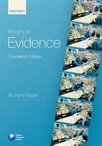 Book Murphy on Evidence by Richard Glover